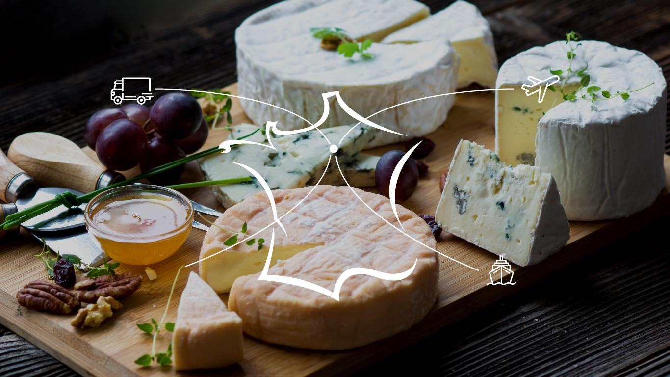 Plateau de fromages français